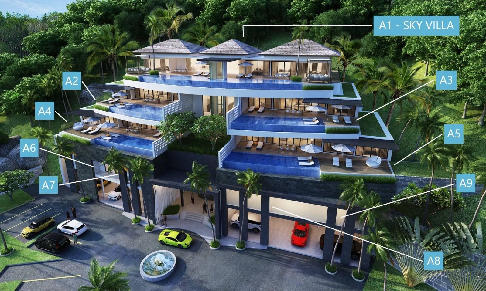 Units of Building A - Andamaya Surin Bay
